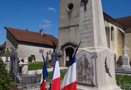 Monument aux morts de Chancey (70)