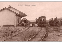 Cartes postales anciennes de Molay (70)